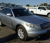 2005 INFINITI FX-35 AVAILABLE FOR SALE AT AUCTION PRICE CALL 08067816891