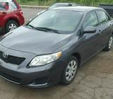 2009 TOYOTA COROLLA FOR SALE AT AUCTION PRICE CALL 08067816891