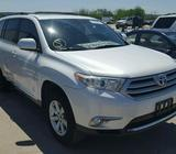 Clean 2012 Model Toyota Highlander For Sale call 08067816891