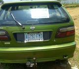 Neatly used Nissan almera car