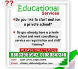 Start, Run and Register a Private School