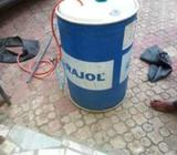 A simple biogas digester can gas for 3 families for light and cooking