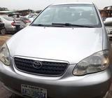 Neatly used Toyota Corolla car