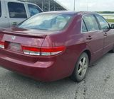 FOR SALE 2004 HONDA ACCORD CALL 08067816891