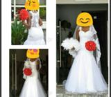 Preowned wedding gown