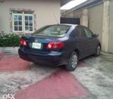 Neatly used '05 corolla for sale