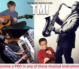 Play Piano, Guitar, Saxophone and Become A Pro