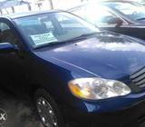 American used Toyota corolla car