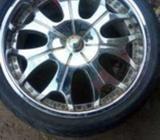 Chrome wheel