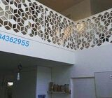 Laser Cut Screens for decoration and comfort