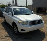 toyota Highlander jeep  for sale at auction price ₦500,000 call 08067816891