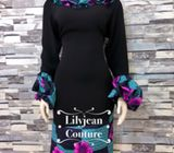 Zinny Ankara Dress by LJC