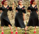Pretty Black Dress by LJC
