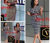Polka dot Gown (Includes Nationwide Delivery)