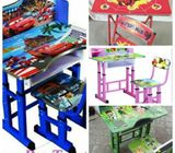 Cartoon Characters Kids Study Table And Chair
