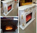 Imported Executive Fireplace Tv Stand for Sale