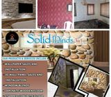 We handle your Interior Decor with quality fabrics & materials @ Solid Minds Int'l Interiors ( Epoxy