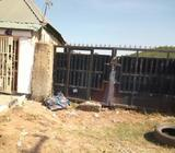 Empty Plot Of 800sqm Fenced With Gate