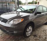 Clean Tokunbo Toyota Matrix For Sale
