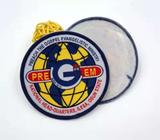 School badge / woven badge maker