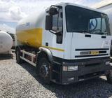 10 Tons LPG Bobtail Gas Tank Truck