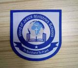 Customized School woven badges in Akure