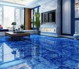 Installation and training on epoxy flooring