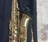 It's alto sax