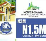 Hurry to buy Affordable land in estate at Abeokuta