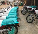 Brand New Bajaj Boxer Motorcycles