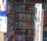 A full stock bookstore (goods alone)