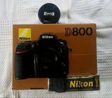 Full frame Nikon D800