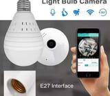 360 Panoramic light bulb security camera
