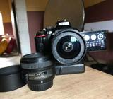 A Nikon D5300 in perfect working condition