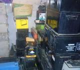 We buy scrap (condemn) Inverter Battery Gwarinpa