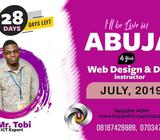 BE A WEB DESIGNER AND DEVELOPER IN 4 WEEKS IN ABUJA