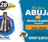 GRAPHICS DESIGN TRAINING IN ABUJA THIS JULY