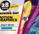LEARN AND BE PROFICIENT IN MOTION GRAPHICS THIS COMING JULY