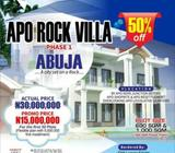 600 Sqm Land In Apo, Abuja