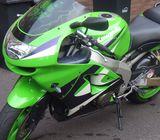 Ninja Kawasaki power bike