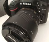 Nikon d7100 with 18-140mm