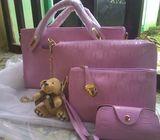 Ladies Exquisite 4 in 1 Handbag