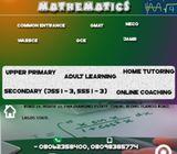 Qualified Mathematics Tutor
