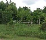 1000sqm Waterfront Land