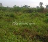 Residential Plot Of Land  Measuring 800sqm With C Of O Located Within The Exclusive Confines Of Bana