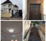 Beautifully Finished Four Bedrooms Fully Detached Duplex with Servants Room at Divine Home's Thomas