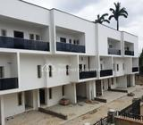 Newly Built 4 Bedroom Terraced Duplex With 1 Room Bq