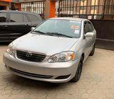 Auction Sale Toyota corolla 2001