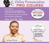 Diction and Pronunciation Pro Course