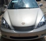 Clean unregistered Lexus ES300 with full options